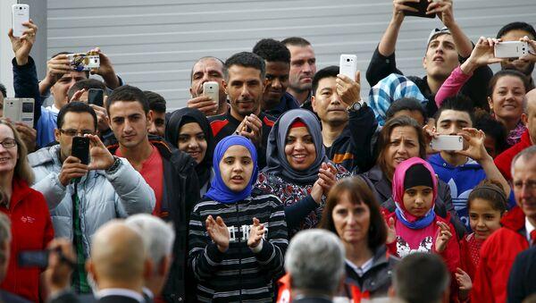 Migranci w Niemczech - Sputnik Polska
