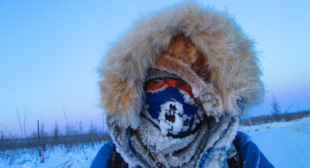 """Międzynarodowa Zimowa Wyprawa Rowerowa """"Drogami pamięci. Sacha (Jakucja) 2014"""