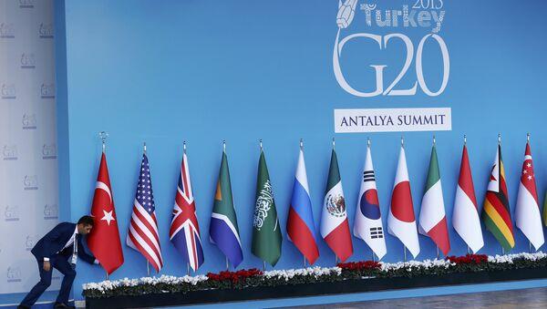 G20 w Turcji - Sputnik Polska