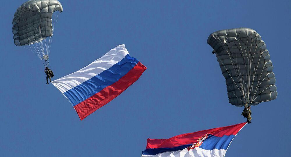 Serbsko-rosyjskie ćwiczenia wojskowe