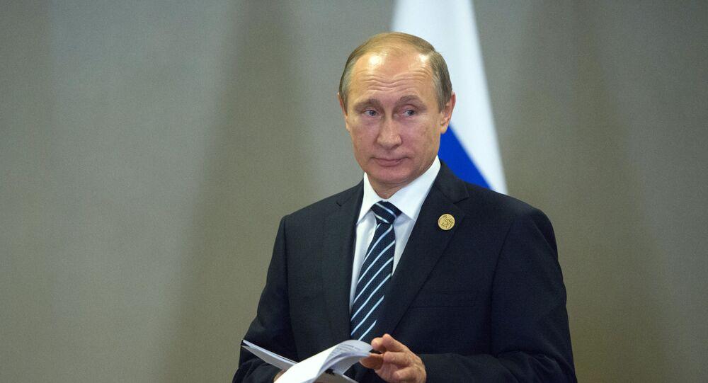 Władimir Putin na szczycie G20 w Turcji