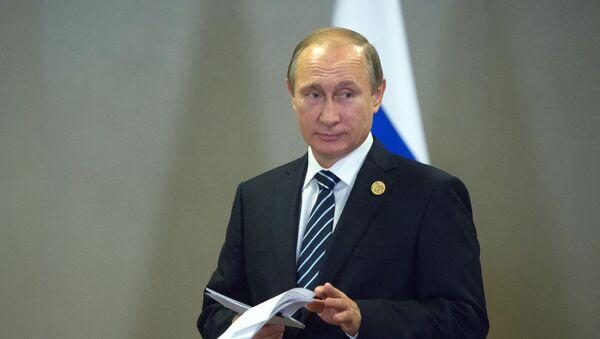 Władimir Putin na szczycie G20 w Turcji - Sputnik Polska