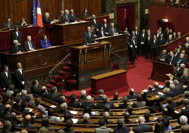 Orędzie Francoisa Hollande'a do Kongresu