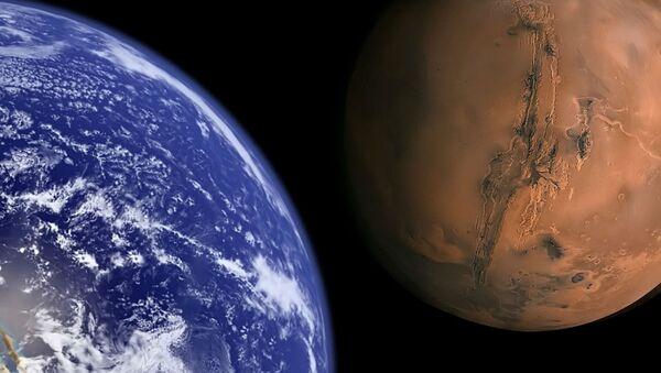 Ziemia i Mars - Sputnik Polska