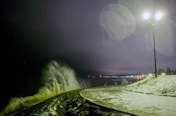 Jezioro Onega w Pietrozawodsku - Sputnik Polska
