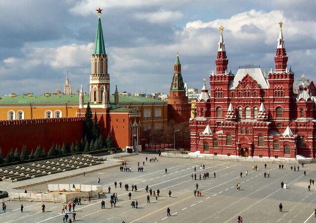 Kreml moskiewski i Plac Czerwony