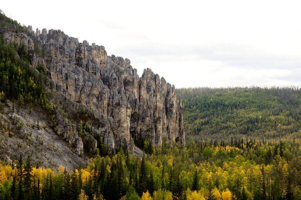 Leńskie Słupy - park krajobrazowy w Rosji - Sputnik Polska