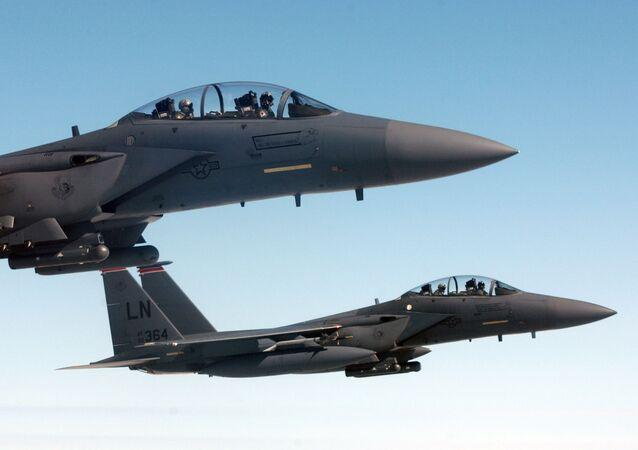 Amerykański myśliwiec F-15E