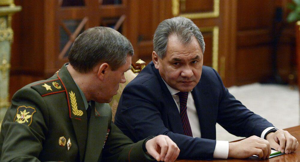 Minister Obrony Federacji Rosyjskiej – generał armii Siergiej Szojgu