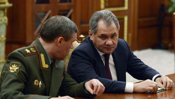 Minister Obrony Federacji Rosyjskiej – generał armii Siergiej Szojgu - Sputnik Polska