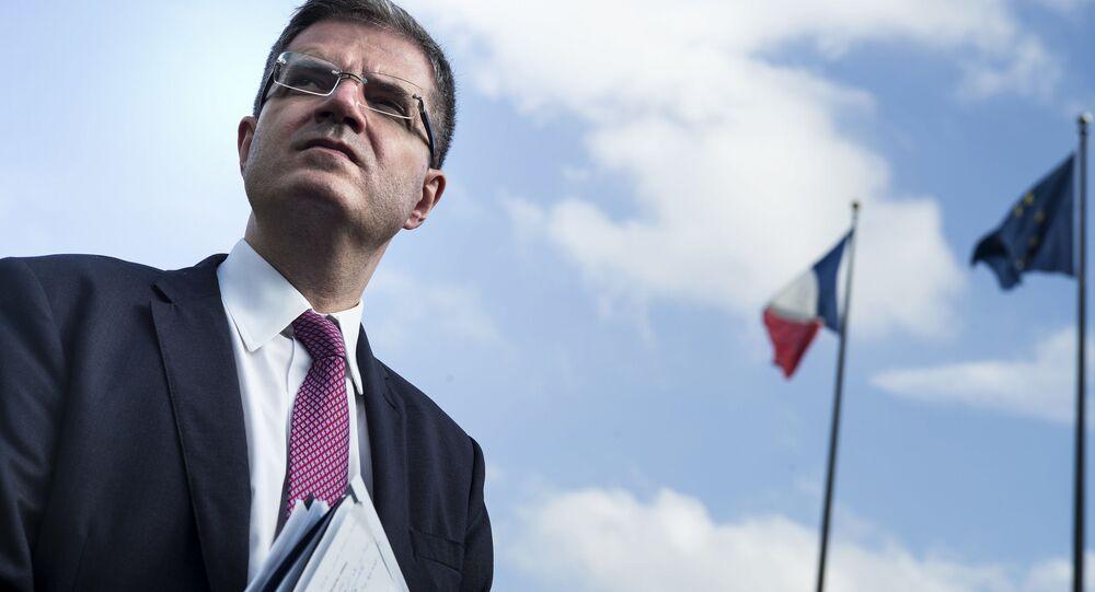 Przedstawiciel Francji przy ONZ François Delattre