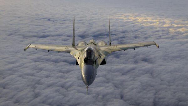 Rosyjski samolot myśliwski Su-35 - Sputnik Polska