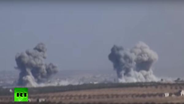 Konsekwencje rosyjskich nalotów w Syrii - Sputnik Polska