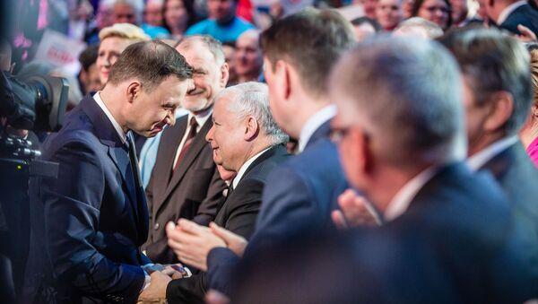 Andrzej Duda i Jarosław Kaczyński - Sputnik Polska