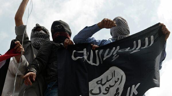 Terroryści z ISIS - Sputnik Polska