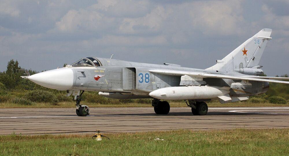 Bombowiec Su-24