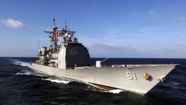 amerykański krążownik - Sputnik Polska
