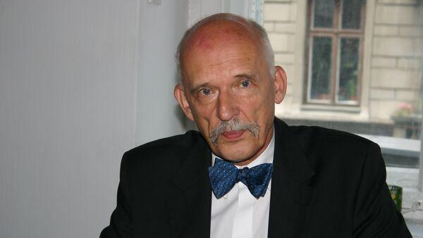 Janusz Korwin-Mikke, europoseł, polityk - Sputnik Polska