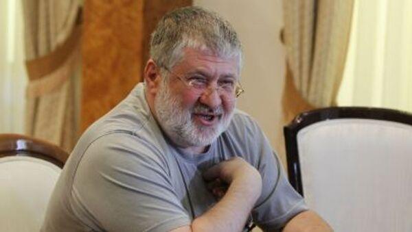 Gubernator obwodu dniepropietrowskiego Ukrainy Ihor Kołomojski - Sputnik Polska