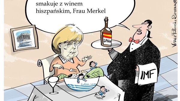 Kraje zadłużone z południowej Europy są w coraz trudniejszej sytuacji - Sputnik Polska