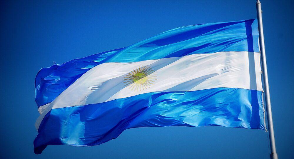 Argentyńska flaga