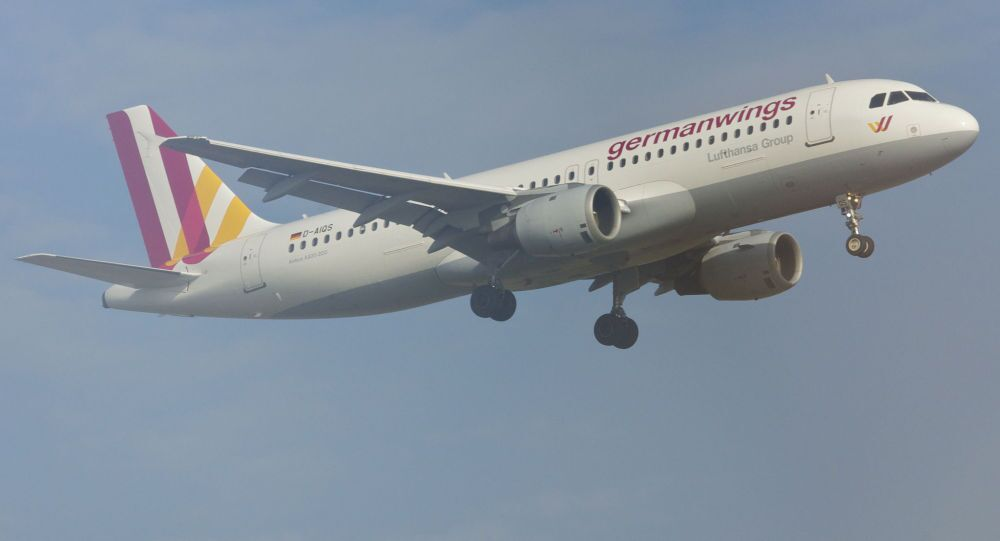 Самолет компании Germanwings Аэробус A320