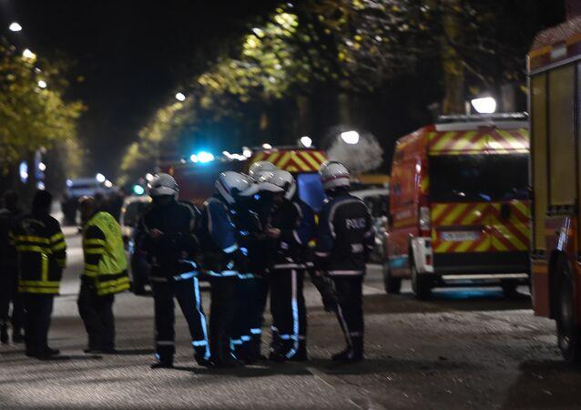 Akcja policji w Roubaix