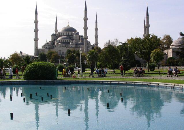 Błękitny Meczet w Istambule, Turcja