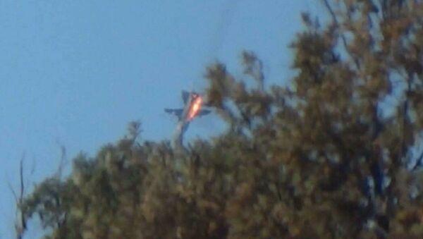 Zestrzelony bombowiec Su-24 - Sputnik Polska