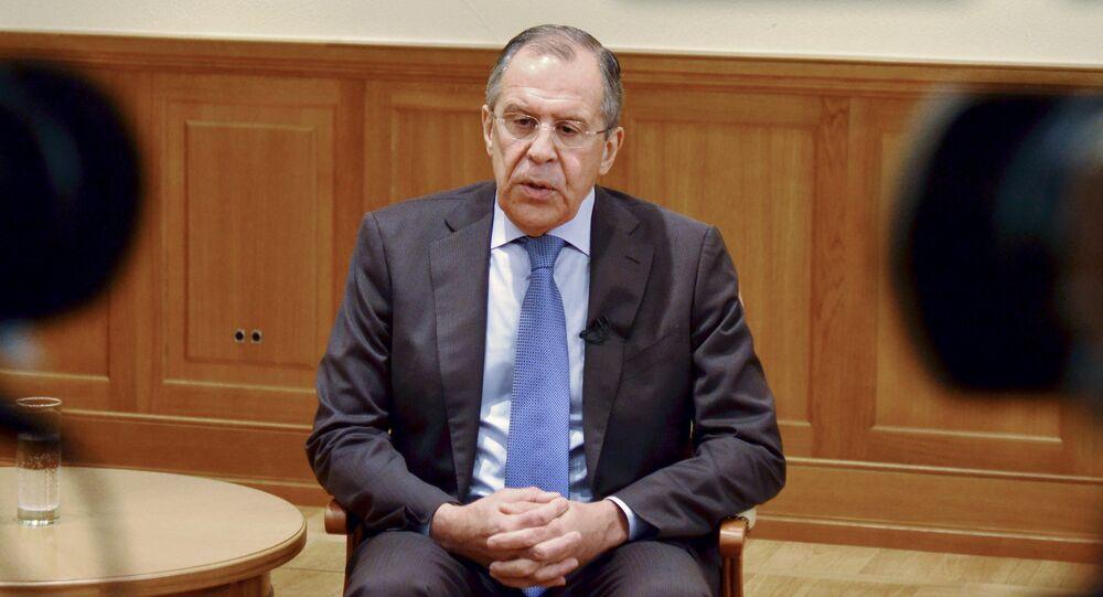 Wywiad szefa MSZ Rosji Siergieja Ławrowa dla rosyjskich i zagranicznych mediów