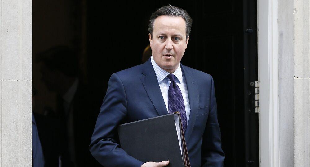 Premier Wielkiej Brytanii  David Cameron, 26.11.2015