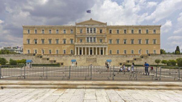 Budynek parlamentu Grecji - Sputnik Polska