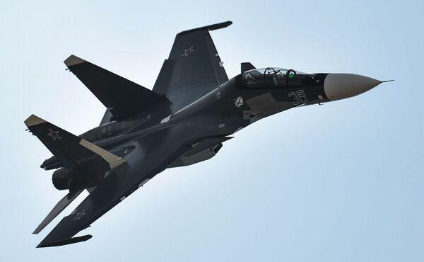 Rosyjski wielozadaniowy samolot bojowy Su-30SM - Sputnik Polska