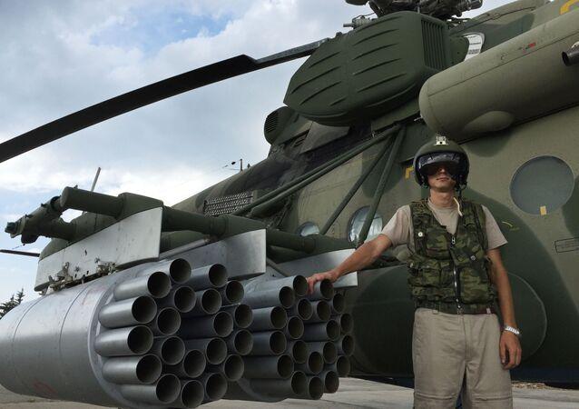 Rosyjski śmigłowiec wielozadaniowy Mi-8