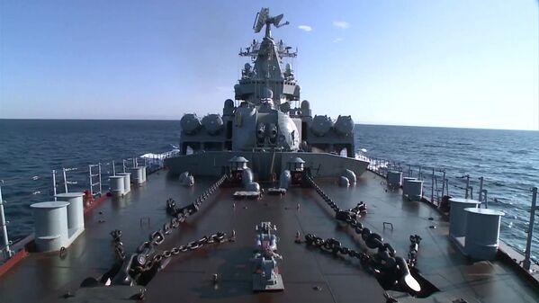 Krążownik rakietowy Moskwa - Sputnik Polska