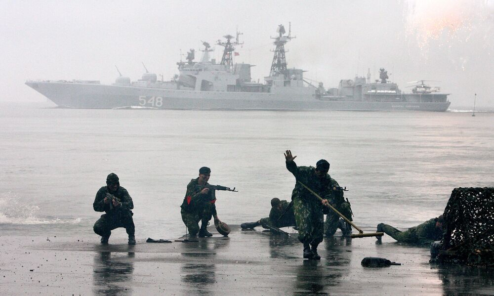 Rosyjska piechota morska