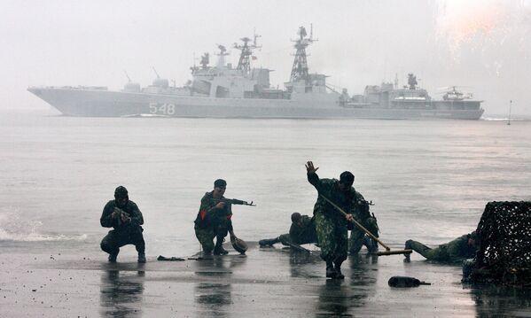 Rosyjska piechota morska - Sputnik Polska