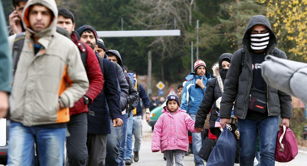 Migranci na granicy