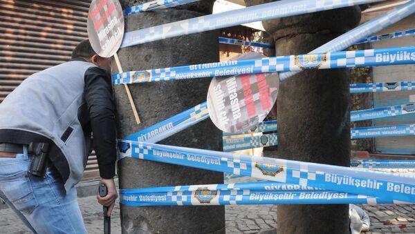 Zabójstwo znanego kurdyjskiego adwokata Tahira Elci - Sputnik Polska