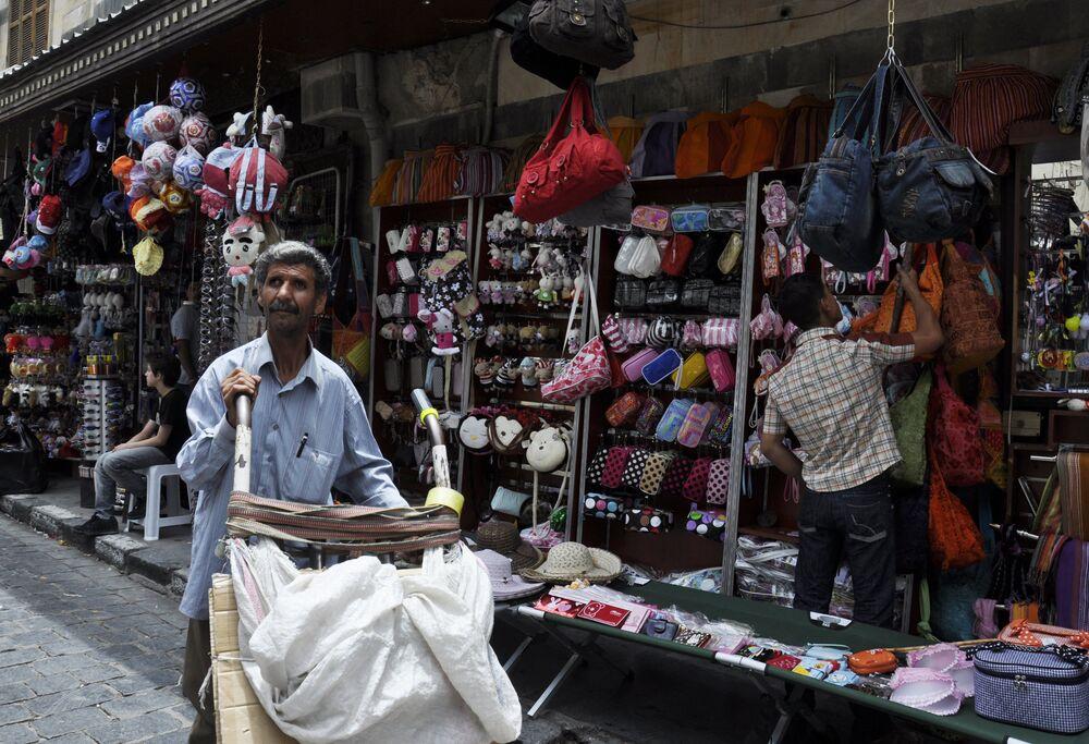 Centralny bazar w Damaszku