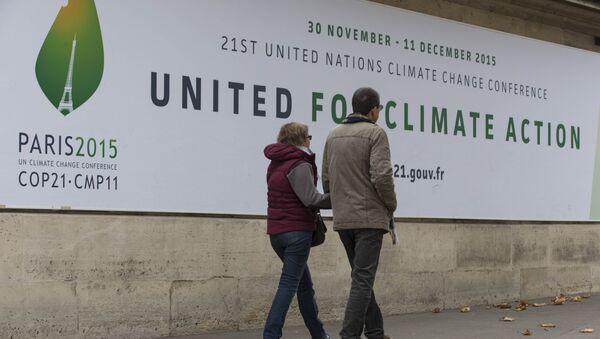 Konferencja klimatyczna COP21 w Paryżu - Sputnik Polska