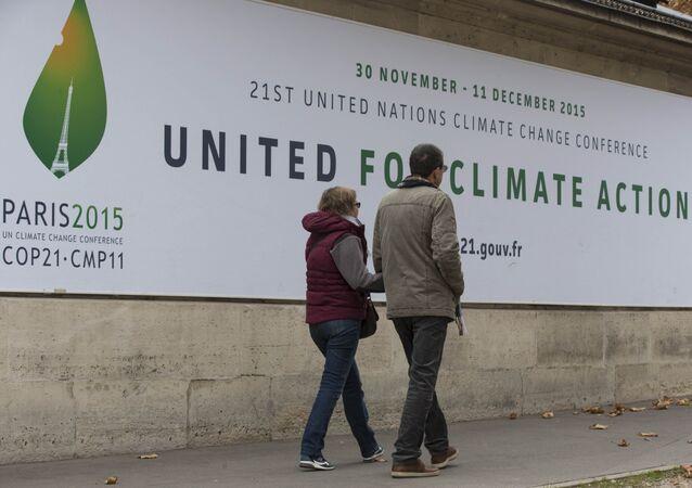 Konferencja klimatyczna COP21 w Paryżu