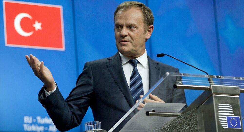 Szef Rady UE Donald Tusk