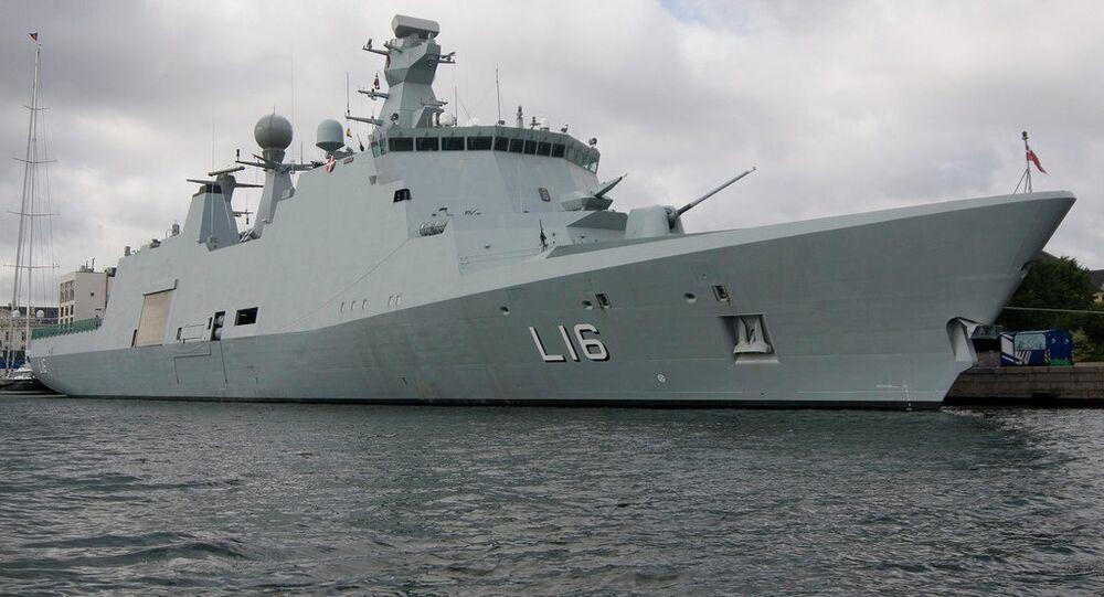 Duński okręt Absalon