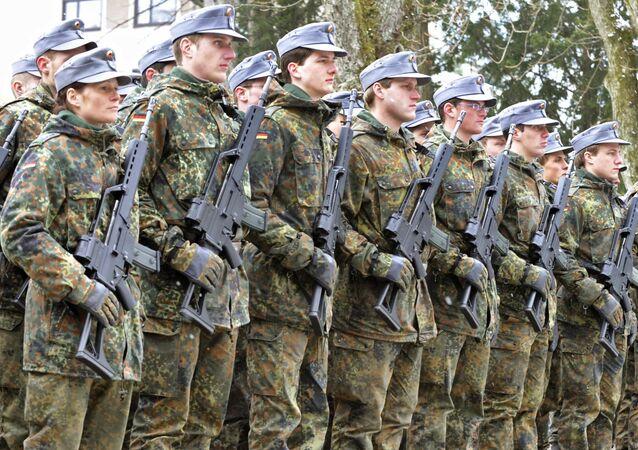 Żołnierze niemieckiej armii
