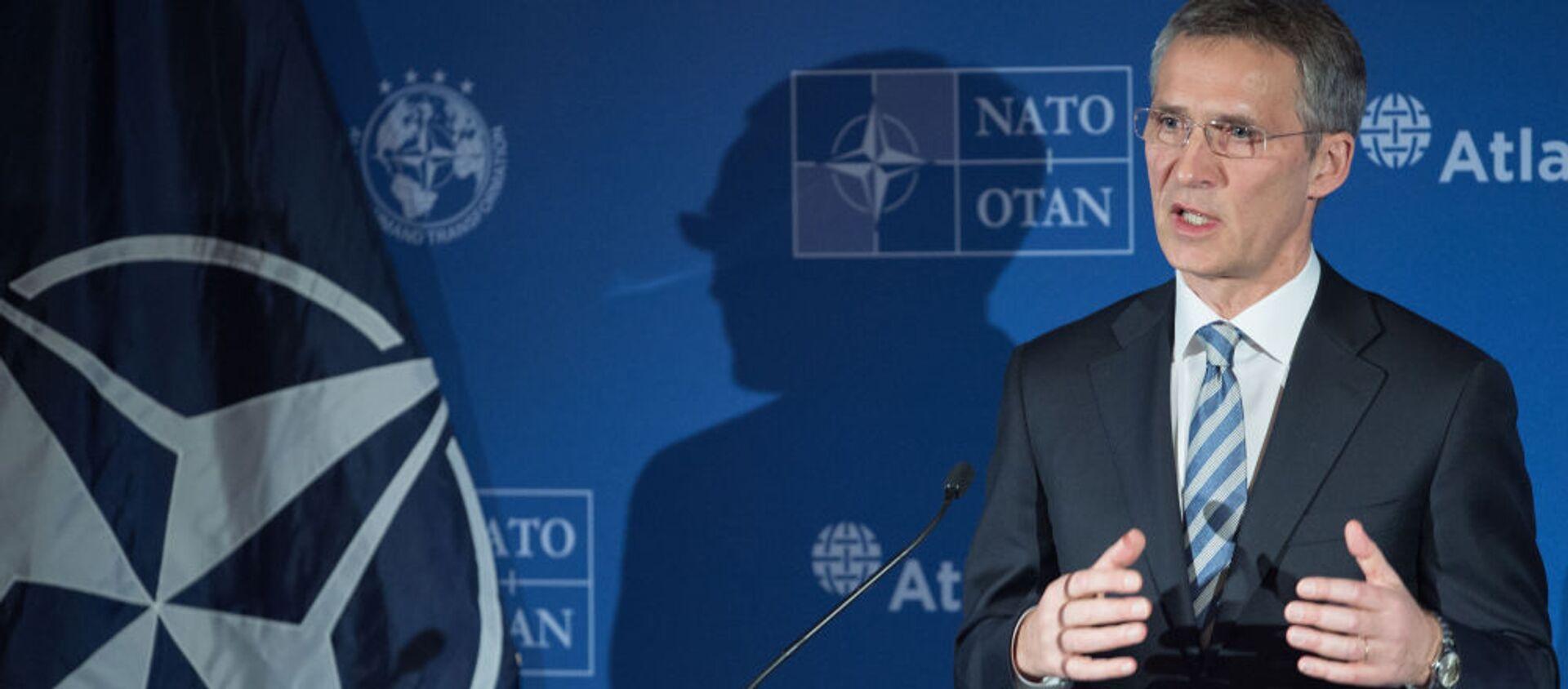 Sekretarz generalny NATO Jens Stolenberg - Sputnik Polska, 1920, 08.06.2021