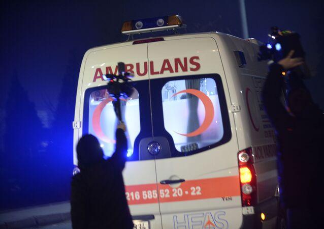Pogotowie ratunkowe w Stambule
