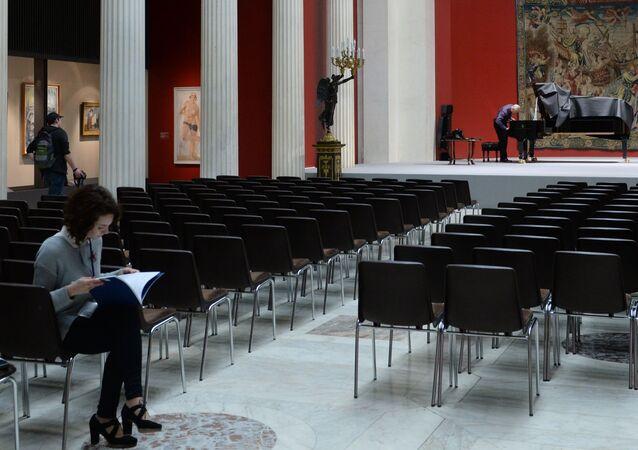 Wystawa Wieczne tematy sztuki w Muzeum Sztuk Pięknych im. Puszkina