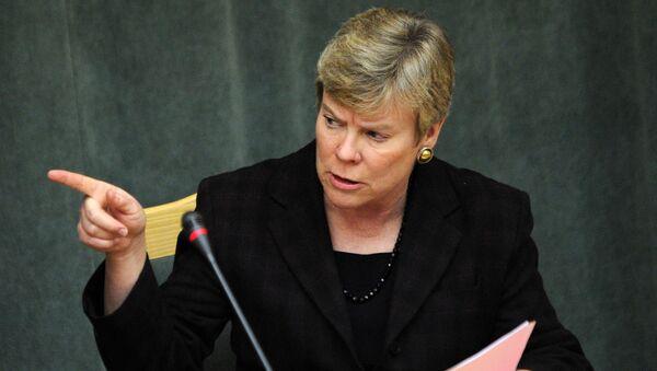 Asystentka sekretarza stanu USA ds. kontroli zbrojeń i bezpieczeństwa międzynarodowego Rose Gottemoeller - Sputnik Polska