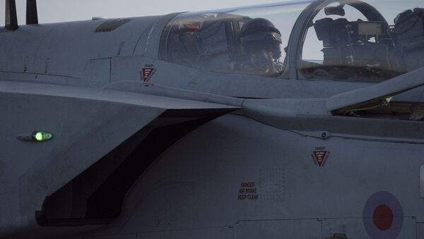 Brytyjskie samoloty Tornado w bazie lotniczej Akrotiri - Sputnik Polska
